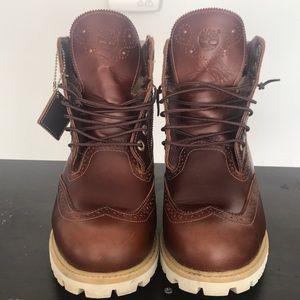 Timberland Icon 6 Brogue Boot Chestnut